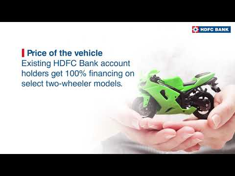 How to check two wheeler loan eligibility? check bike loan eligibility  bike loan 2021 hdfc bank