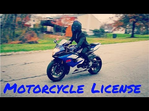 How to get a motorcycle license