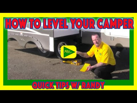 How to level your camper   pete's rv quick tips (cc)
