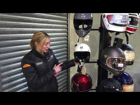 Classic motorcycle helmets and clothing in sheffield part one