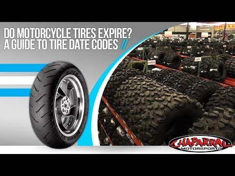 Do motorcycle tires expire? a guide to tire date codes