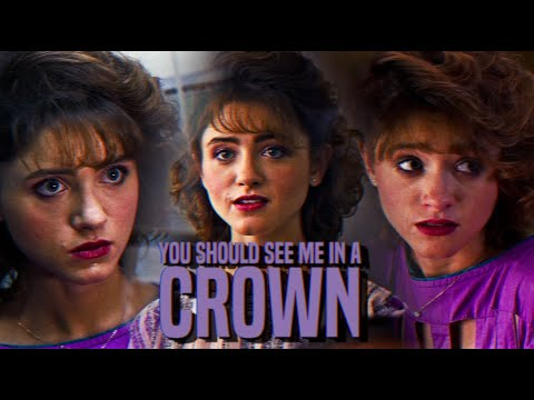 Nancy wheeler | you should see me in a crown.