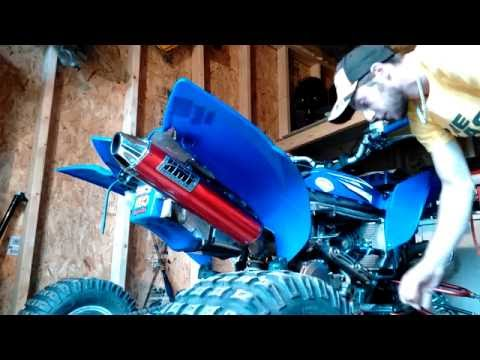 How to change coolant on yfz 450