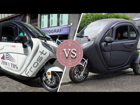 Zbm frost electro-ride three-wheeler trike vs cabin electric scooter 1500w//reviews and full specs