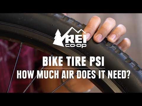 Bike tire psi: how much air should you put in your bike tire? || rei