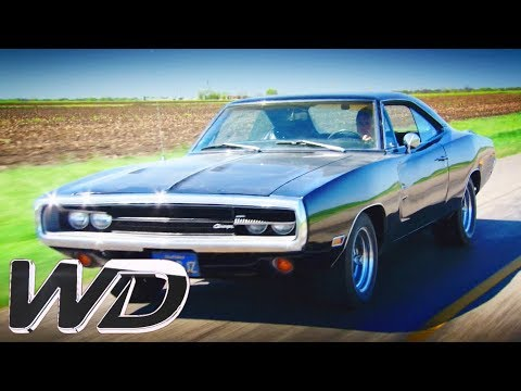 """Dodge charger's """"floppy"""" gear selector ditched for new part   wheeler dealers"""