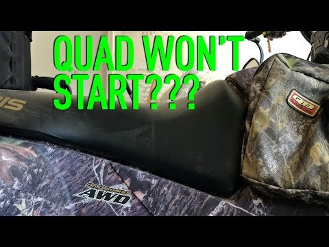 Quad won't start - quick tuneup to get your atv running (easy)