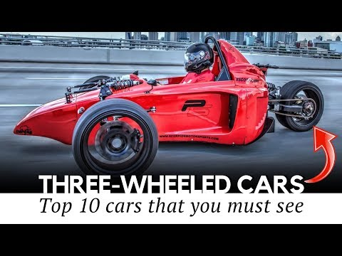 Top 10 three-wheel vehicles with car-like comfort and motorcycle efficiency