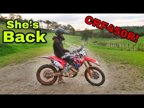 The best 450 dirt bike i know - back on a crf 450