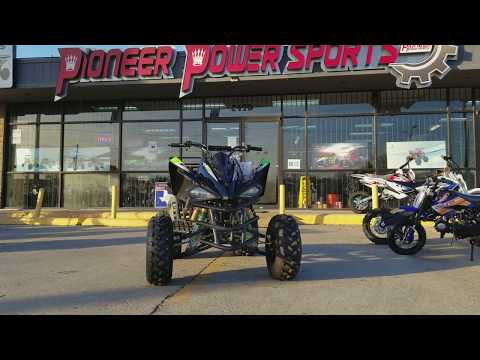 Vitacci full size   125cc sporty four wheeler   review   overview