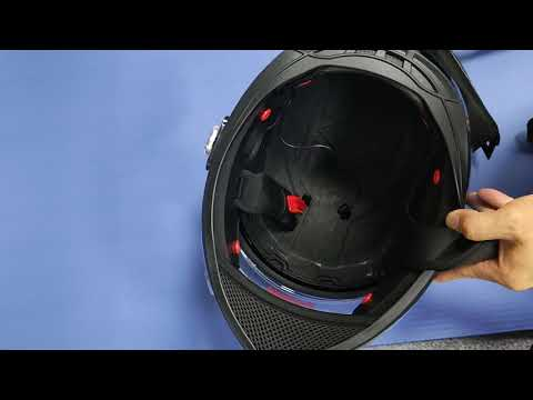 Freedconn bm22 with bluetooth full face motorcycle helmet lining removal and replacement