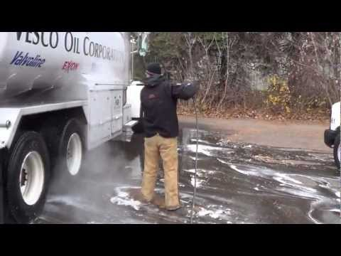 How to pressure wash a semi truck by chembrite