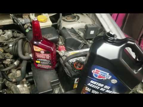 How to clean the inside of your engine the easy cheap way.
