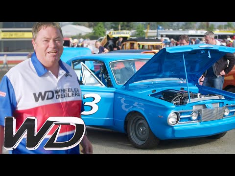 Mike & ant challenge world champion to a drag race!   new wheeler dealers