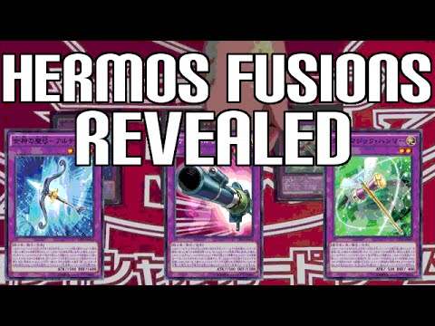Yugioh hermos fusions - joey's cards revealed