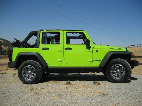 The differences between jeep wranglers - sport, sahara & rubicon