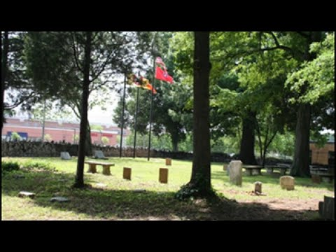 Brained mission cemetry ( trail of trails national historic trail )