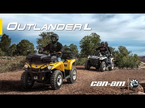 Introducing the all-new 2015 can-am outlander l