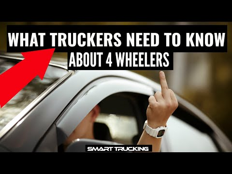 5 facts about four wheelers every truck driver should know!