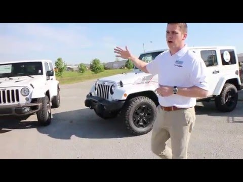 What is the difference in all of the wrangler packages?