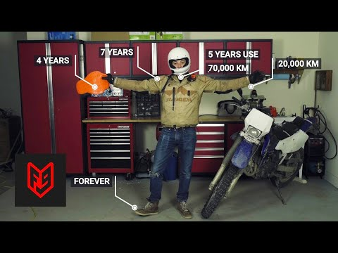 Outdated, dangerous and dead : when to replace motorcycle gear
