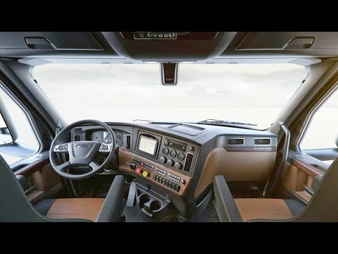 Freightliner cascadia 2021 interior - mini bedroom on the road (luxury truck) | new cascadia review