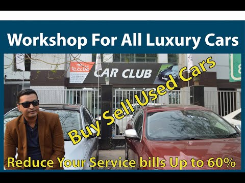 Workshop for all luxury cars    buy sell exchange used cars at less price
