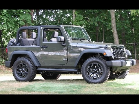 2015 willys jeep limited slip differential test