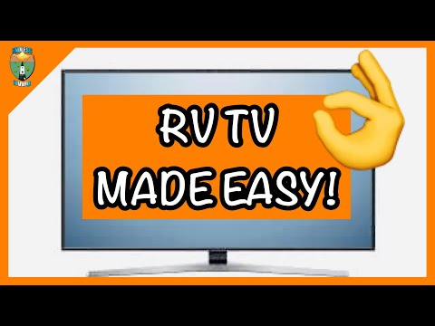 Rv tv - 4 easy ways to get tv on your rv!