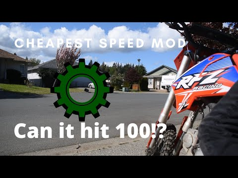 How to make your pit bike faster | apollo 125cc pit dirt bike