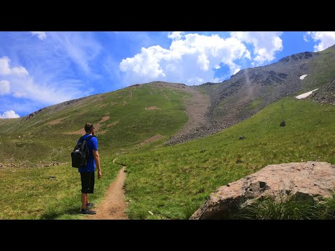 Hiking to the tallest point in new mexico - wheeler peak