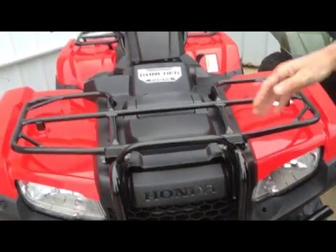Find your honda rancher model and year
