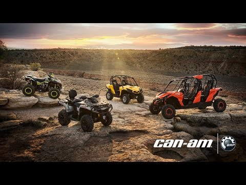 The 2015 can-am lineup has arrived