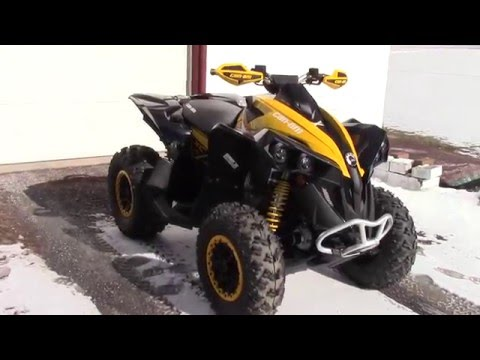 New can am renegade 1000 xxc walk around and start up.