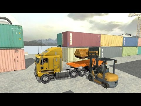Usa truck driver 18 wheeler (by trimcogames) android gameplay [hd]
