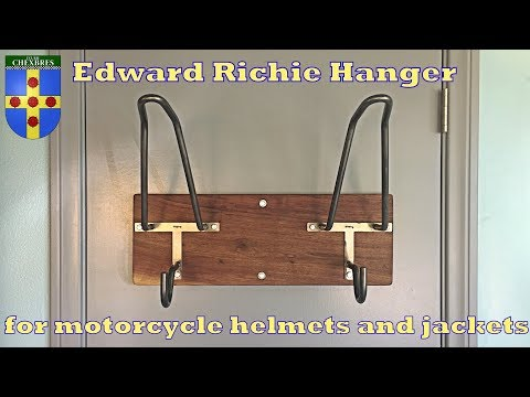 Edward richie hanger for motorcycle helmets and jackets (product review)