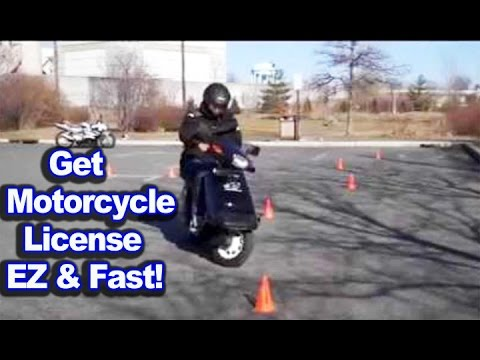 Get motorcycle license easy and fast | motovlog