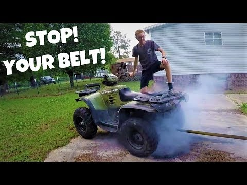 Epic four wheel drive burn out!