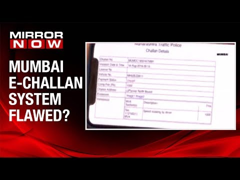 Car owner given challan for 2 wheeler, is the e-challan system flawed?