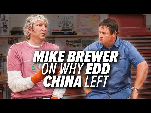 Mike brewer on why edd china left wheeler dealers