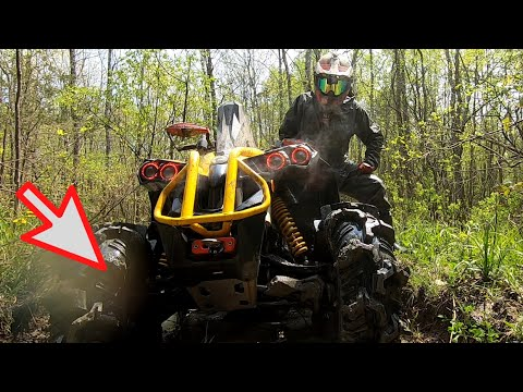 The perfect combo? can am renegade 1000 xmr on 32 tereache aztex mud tires