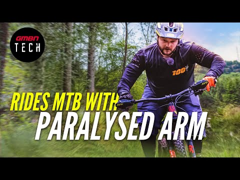 How i ride a mountain bike with a paralysed arm   the tom wheeler documentary