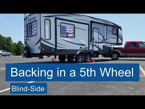 How to back in a 5th wheel