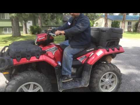 Polaris sportsman 850 xp eps drive line noise and how to fix
