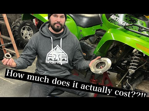 How much!!?? what does owning a quad cost per year