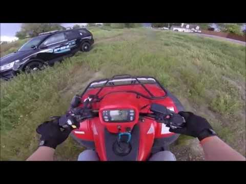 Cops get called on legal four wheeler riders