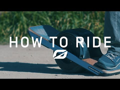 How to ride onewheel (in 60 seconds)